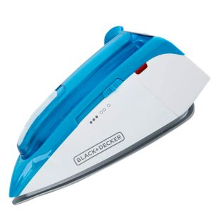 Black&Decker T1250-B5 1085W  Dual Voltage Travel Steam Iron