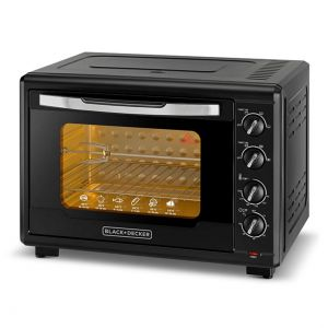 Black&Decker TRO55RDG-B5 55L 2000W Double Glass Toaster Oven With Rotisserie