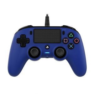 Nacon Wired Compact Controller For PS4-Blue