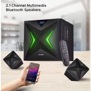 F&D F550X 2.1 Channel Multimedia Bluetooth Speakers