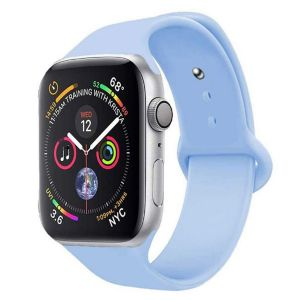 Porodo Silicone Watch Band for Apple Watch 40mm / 38mm - Light Blue