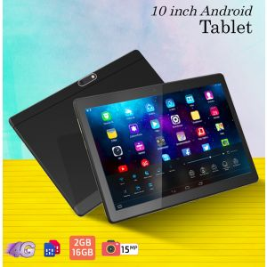 Modio M10 Tablet -4G Dual Sim,10 Inch HD,2GB,16GB – Black