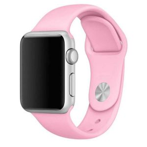 Porodo Silicone Watch Band for Apple Watch 40mm / 38mm - Pink