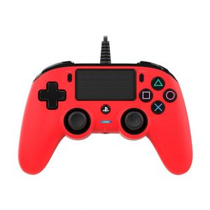 Nacon Wired Compact Controller For PS4-Red