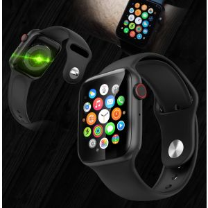 Smart Watch With Health Monitors , Full Touch Screen , Heart Rate Monitor