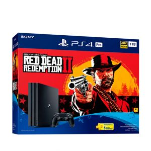 Sony Playstation 4 Pro – Red Dead Redemption 2-1TB