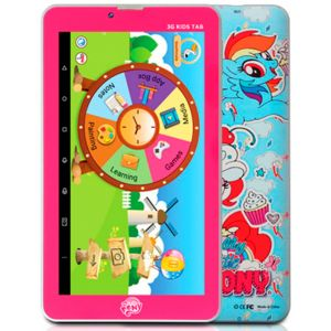 Touchmate – 7 inch 3G Dual Sim 16GB Transformers Gaming Pad TM-MID792LP -Pink