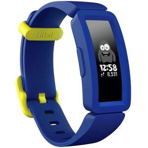 Fitbit Ace 2 Activity Tracker for Kids - Night Sky + Neon Yellow