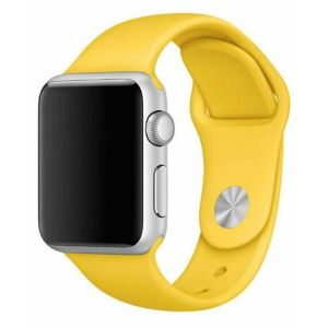 Porodo Silicone Watch Band for Apple Watch 40mm / 38mm - Yellow